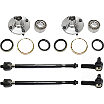 Wheel Hub and Tie Rod End Kit