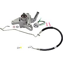 Power Steering Hose, Power Steering Pressure Switch and Power Steering Pump Kit