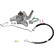 Power Steering Pressure Switch, Power Steering Hose and Power Steering Pump Kit