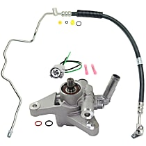 Power Steering Hose, Power Steering Pressure Switch and Power Steering Pump Kit