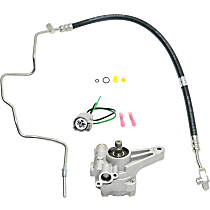 Replacement Power Steering Pressure Switch, Power Steering Hose and Power Steering Pump Kit