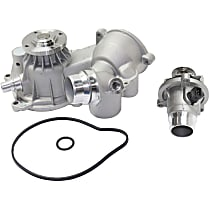 Water Pump - with Thermostat Housing
