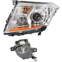 Replacement Headlight and Fog Light Kit