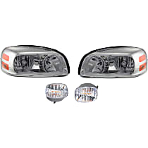 Replacement Headlight and Turn Signal Light Kit