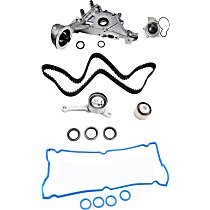 Replacement Timing Belt Kit, Valve Cover Gasket, Water Pump and Oil Pump Kit