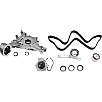 Replacement Timing Belt Kit, Water Pump and Oil Pump Kit