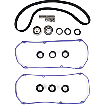 Replacement Valve Cover Gasket, Hydraulic Timing Belt Actuator and Timing Belt Kit