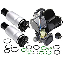 Replacement Air Suspension Compressor and Air Spring Kit