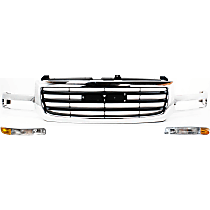 Replacement Grille Assembly and Parking Light Kit