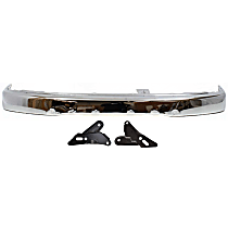Bumper - Front, Chrome, Base/SR5 Model, with Arm Mounting Brackets and without Sport Package