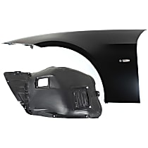 Fender Liner - Front, Driver Side, Front Section, Sedan/Wagon, without M-Sport Package, with Left Fender