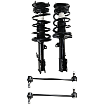 Replacement Shock Absorber and Strut Assembly and Sway Bar Link Kit