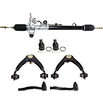 Replacement Steering Rack, Ball Joint, Control Arm and Tie Rod End Kit
