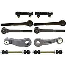 Tie Rod End - Front, Driver and Passenger Side, Inner and Outer, with Idler Arm, Pitman Arm, Sway Bar Link and Tie Rod Adjusting Sleeve
