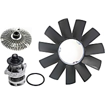 Cooling System Service Kit, Fan Clutch, Fan Blade and Water Pump Kit