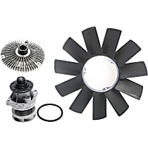 Replacement Fan Clutch, Fan Blade and Water Pump Kit