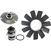 Fan Clutch, Radiator Fan Blade and Water Pump Kit