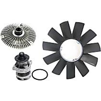 Fan Clutch, Radiator Fan Blade and Water Pump Kit