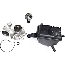 Cooling System Service Kit, Coolant Reservoir, Water Pump and Thermostat Kit