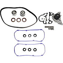 Replacement Hydraulic Timing Belt Actuator, Valve Cover Gasket, Water Pump and Timing Belt Kit