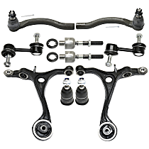 Sway Bar Link, Tie Rod End, Control Arm And Ball Joint Kit
