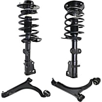 Front OE Replacement Shock Absorber and Strut Assembly Kit Driver and Passenger Side