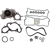 Replacement Timing Belt Kit, Valve Cover Gasket and Water Pump Kit