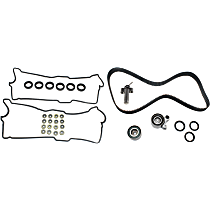 Replacement Valve Cover Gasket, Hydraulic Timing Belt Actuator and Timing Belt Kit Kit