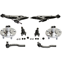 Control Arm, Tie Rod End, Ball Joint and Wheel Hub Kit