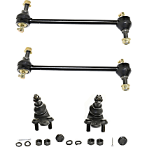 Ball Joint and Sway Bar Link Kit, Front Driver and Passenger Side