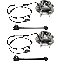 Replacement Control Arm and Wheel Hub Kit