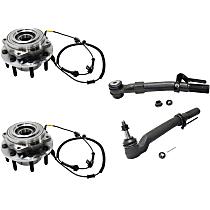 Tie Rod End and Wheel Hub Kit