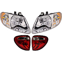 Replacement Headlight and Tail Light Kit