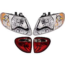 Tail Light and Headlight Kit