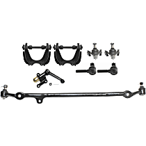 Center Link, Tie Rod End, Ball Joint, Idler Arm and Control Arm Kit