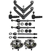 Control Arm, Wheel Hub, Tie Rod End and Sway Bar Link Kit