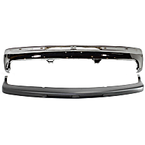 Bumper - Front, Chrome, with Bumper Filler and without Bumper Brackets