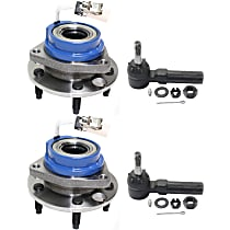 Front, Driver and Passenger Side Wheel Hub Kit