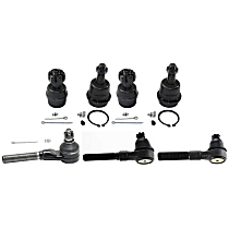 Suspension Kit - Greasable, Direct Fit, Set of 5
