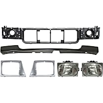 Bumper Filler, Header Panel, Headlight Door and Headlight Kit