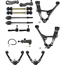 Replacement Idler Arm Bracket, Control Arm, Tie Rod End, Idler Arm, Sway Bar Link and Pitman Arm Kit