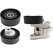 Replacement Accessory Belt Tension Pulley, Accessory Belt Tensioner and Accessory Belt Idler Pulley Kit