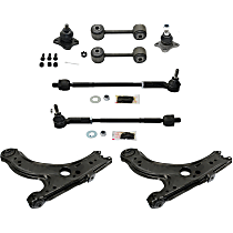 Control Arm, Tie Rod Assembly, Ball Joint and Sway Bar Link Kit