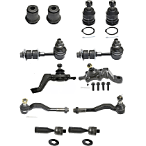 Ball Joint, Tie Rod End, Sway Bar Link and Control Arm Bushing Kit