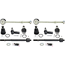 Replacement Suspension Kit, Tie Rod End, Ball Joint and Sway Bar Link Kit