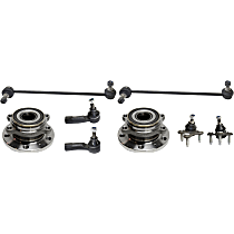 Replacement Ball Joint, Wheel Hub, Tie Rod End and Sway Bar Link Kit
