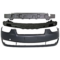 Replacement Bumper Cover, Bumper Absorber and Bumper Reinforcement Kit