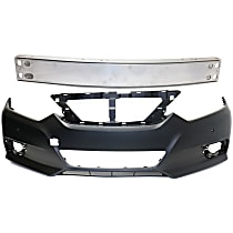 Replacement Bumper Reinforcement and Bumper Cover Kit