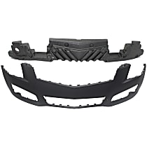 Replacement Bumper Cover and Bumper Absorber Kit