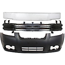 Replacement Bumper Reinforcement, Bumper Cover and Bumper Absorber Kit